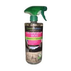 Dégriseur bois écologique pour teck et bois exotiques - 750 ml - GREEN PLAISANCE - Réparation et rénovation du bois - DE-627315