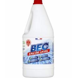 Javel non parfurmé - 2.6 % - 2 L - BEC - Hygiène de la maison - 275085