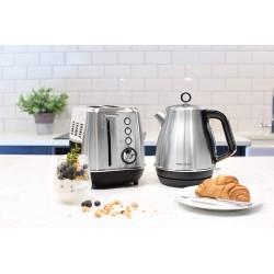 Toaster - Evoke - Inox - 850 Watts - MORPHY RICHARDS - Grille pain - DE-342527