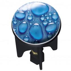 Bouchon clapet de lavabo - Pluggy - Goutte d'eau - 4 cm - WENKO - Bouchons / clapets et grilles de vidage - WE207951