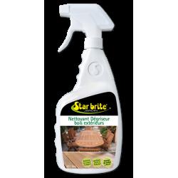 Nettoyant dégriseur Bois extérieurs - 500 ml - STAR BRITE - Réparation et rénovation du bois - DE-217357