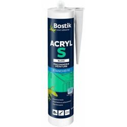 Mastic acrylique d'étanchéité - Acryl S - Blanc - 310 ml - BOSTIK - Autres Mastics - DE-440198