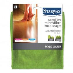 Serpillière microfibre multi-usages pour sols lisses - STARWAX - Serpillière - BR-212523