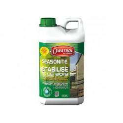 Stabilisateur incolore pour bois neufs humides - Seasonite - 2.5 L - OWATROL - Réparation et rénovation du bois - DE-868745