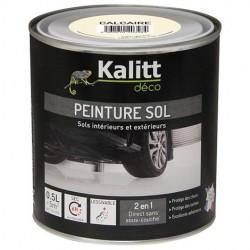 Peinture Spécial sol - Satin - Calcaire - 0.5 L - KALITT - Peintures - DE-368035