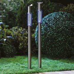 Lampe solaire en Inox - 70 cm - IMAGIN - Pour l'extérieur - DE-681114
