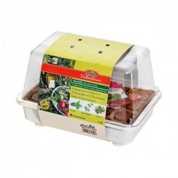 Mini-serre pour plantes aromatiques - 29 cm - ROMBERG - Protection des plantes - DE-718635