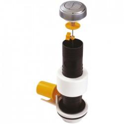 Mécanisme chasse d'eau - à€ bouton poussoir - NF - 6200 - Double débit - CLARA - Mécanisme de chasse - SI-402321