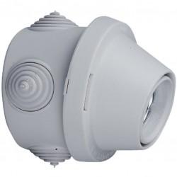 Douille patère Plexo B22 étanche 100 Watts - LEGRAND - Douille pour ampoule B22 - BR-825859