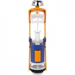 Mécanisme chasse d'eau - à€ bouton poussoir - Mécad'or 6000 - REGIPLAST - Mécanisme de chasse - SI-386240