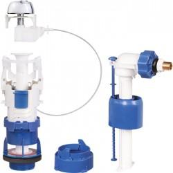 Mécanisme chasse d'eau - à€ câble - Clip'Easy - Double débit - Mécanisme de chasse - SI-677300
