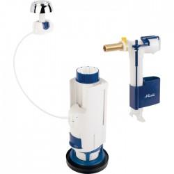 Mécanisme WC double volume économiseur d'eau gamme 3V - NICOLL - Mécanisme de chasse - SI-342773