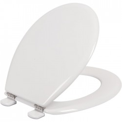 Abattant WC Double - Tradition - Blanc - OLFA - Accessoires WC - SI-744010