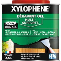Décapant gel multi-supports - 0.5 L - XYLOPHENE - Décapants - BR-540251