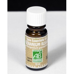 Huile essentielle Bio - Géranium Rosat - 10 ml - CEVEN AROMES - Huiles essentiellles - DE-467853