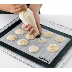 Tapis de cuisson en silicone - 40 x 30 cm - LEKUE - La patisserie - DE-660753