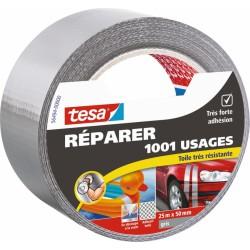 Ruban adhésif réparation - 1001 usages - 25 M x 50 mm - Gris - TESA - Ruban adhésif réparation - BR-767561