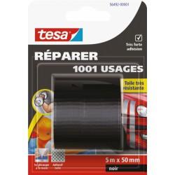 Ruban adhésif réparation - 1001 usages - 5 M x 50 mm - Noir - TESA - Ruban adhésif réparation - BR-767568