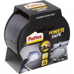 Adhésif super-puissant Power Tape Noir - 10 m x 50 mm - PATTEX - Ruban adhésif fixateur - BR-307949