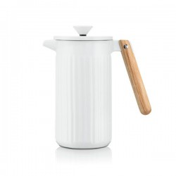 Cafetière à piston en porcelaine, 8 tasses, 1.0 L - Douro - Blanc - BODUM - Pour le Thé, Café, petit déjeûner - DE-514399