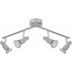Plafonnier 4 spots LED - GU10 - 12 Watts - LEDVANCE - Pour l'intérieur - DE-518184
