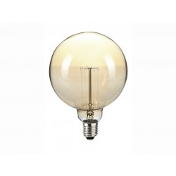 Ampoule Globe décorative - Vintage - 120 mm - E27 - 60 Watts - SYLVANIA - Ampoules fluocompactes - DE-764241
