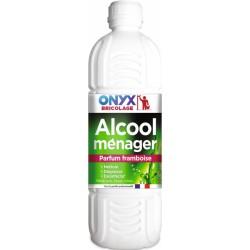 Alcool ménager - Framboise - 1 L - ONYX - Hygiène de la maison - 450134
