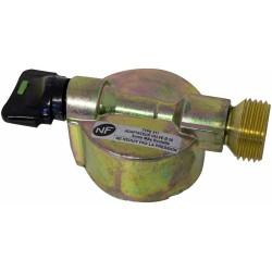 Détendeur basse pression - Avec sécurité - 20 x 150 - Sans tétine - EUROGAZ - Équipements pour gaz butane - TYPE511
