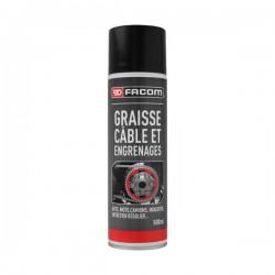 Graisse pour câbles et engrenages - 500 ml - FACOM - Lustrage et entretien - DE-190561
