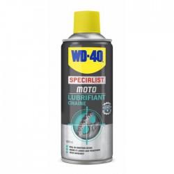 Lubrifiant chaîne conditions sèches - Spécial moto - 400 ml - WD-40 - Lustrage et entretien - DE-217265