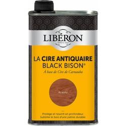 Cire d'antiquaire liquide - Black Bison - Acajou - 500 ml - LIBERON - Entretien du bois - DE-536623