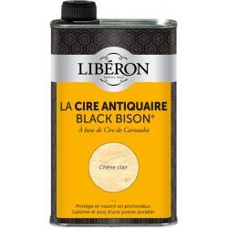 Cire d'antiquaire liquide - Black Bison - Chêne clair - 500 ml - LIBERON - Entretien du bois - DE-536649