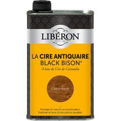 Cire d'antiquaire liquide - Black Bison - Chêne foncé - 500 ml - LIBERON - Entretien du bois - DE-536664
