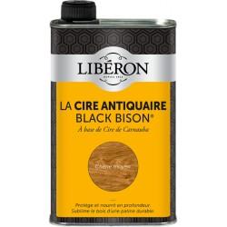 Cire d'antiquaire liquide - Black Bison - Chêne moyen - 500 ml - LIBERON - Entretien du bois - DE-536656