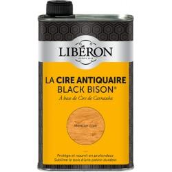 Cire d'antiquaire liquide - Black Bison - Merisier clair - 500 ml - LIBERON - Entretien du bois - DE-536805
