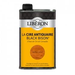 Cire d'antiquaire liquide - Black Bison - Merisier foncé - 500 ml - LIBERON - Entretien du bois - DE-536813