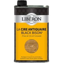 Cire d'antiquaire liquide - Black Bison - Noyer - 500 ml - LIBERON - Entretien du bois - DE-536797