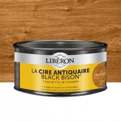 Cire d'antiquaire en pâte - Black Bison - Chêne moyen - 500 ml - LIBERON - Entretien du bois - DE-536680