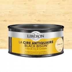 Cire d'antiquaire en pâte - Black Bison - Chêne clair - 500 ml - LIBERON - Entretien du bois - DE-536573