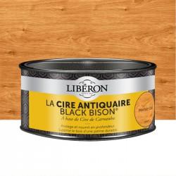 Cire d'antiquaire en pâte - Black Bison - Merisier clair - 500 ml - LIBERON - Entretien du bois - DE-536532