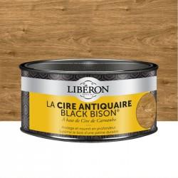 Cire d'antiquaire en pâte - Black Bison - Noyer - 500 ml - LIBERON - Entretien du bois - DE-536524