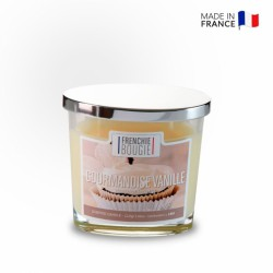 Bougie parfumée - Vanille - 18 heures - Frenchie Bougie - BOUGIES LA FRANCAISE - Bougies parfumées - DE-465600