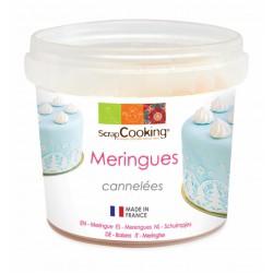 Pot de mini meringues cannelées - 40 Grs - SCRAPCOOKING - Épicerie sucrée - DE-503012