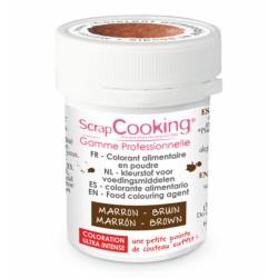 Colorant alimentaire en poudre marron - SCRAPCOOKING - Épicerie sucrée - DE-275554
