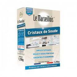 Lessive Cristaux de Soude - 1.25 Kg - LE MARSEILLOIS - Droguerie - DE-429358