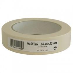 Adhésif cache lisse - 50 m x 25 mm - GPI - Ruban masquage / protection - BR-311978