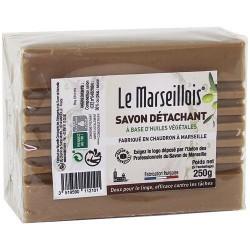 Savon de Marseille détachant - 250 Grs - LE MARSEILLOIS - Détachant pour textile - DE-429332