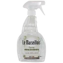 Nettoyant vitres et miroirs - 750 ml - LE MARSEILLOIS - Entretien des vitres - DE-429712