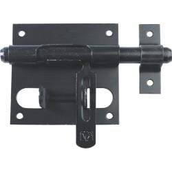 Verrou de box avec porte cadenas - 14 mm - TORBEL - Verrous - BR-595565