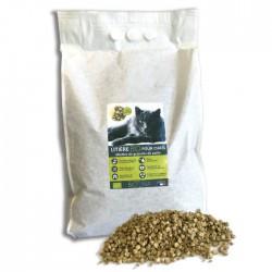 Litière BIO pour chats - Miettes de granulés de paille - 7.5 L - VERLINA - Chats - DE-450750
